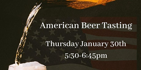 American Beer Tasting tickets