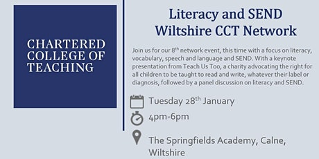 Chartered College of Teaching Wiltshire SEND Network Event tickets