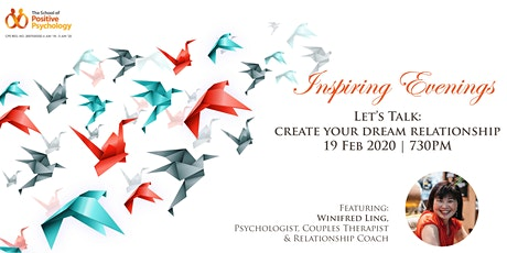 Inspiring Evenings: Let's Talk Creating Your Dream Relationship tickets