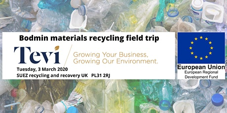 Bodmin materials recycling field trip tickets