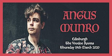 Angus Munro tickets