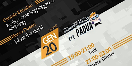 Kotlin come linguaggio di scripting / What the duck!  - Programmers in Padua