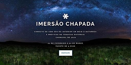 IMERSÃO CHAPADA - CARNAVAL 2020