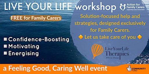 UTTLESFORD - LIVE YOUR LIFE workshop