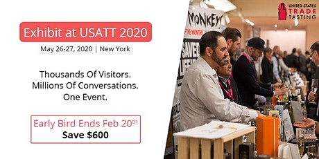 2020 USA Trade Tasting - Exhibitor Registration Portal tickets