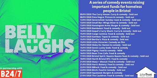 Belly Laughs with Bristol24/7 at City of Bristol College with Squeezed