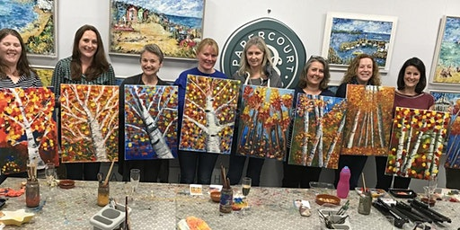 Paint & Sip Evenings @ Papercourt Studio