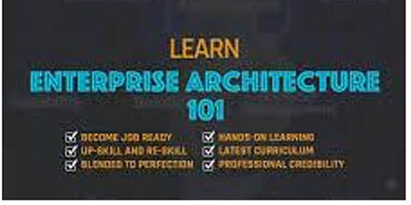 Enterprise Architecture 101_ 4 Days Training in Paris tickets