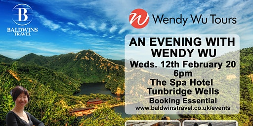 Wendy Wu Tours – An Evening with Wendy Wu