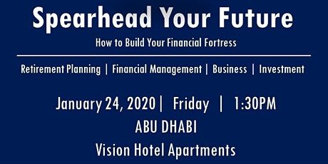 Spearhead Your Future 2020 - Abu Dhabi tickets