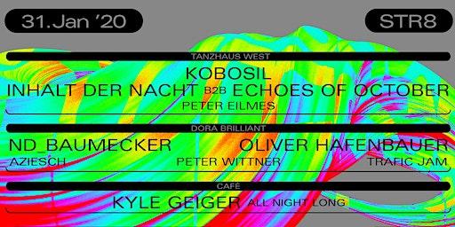 STR8/ Kobosil/ Inhalt der Nacht/ Echoes of October/ Nd_Baumecker
