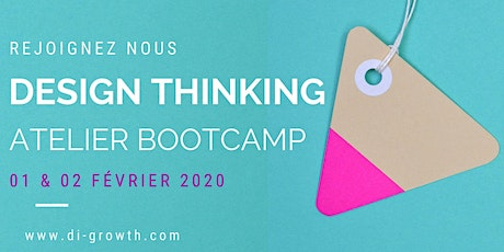 DESIGN THINKING -ATELIER BOOTCAMP billets