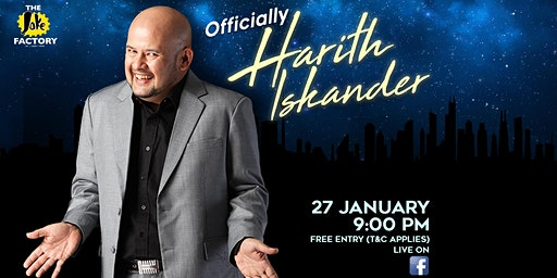 OFFICIALLY HARITH ISKANDER (27 JAN)