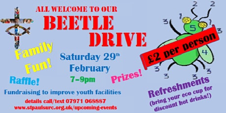 Beetle Drive for all the family tickets