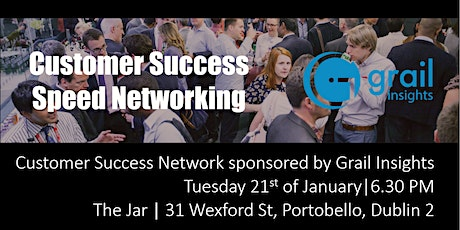 Customer Success | Speed Networking - Dublin - January 2020 tickets