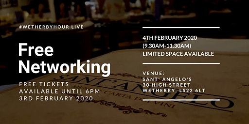 Wetherbyhour LIVE at Sant Angelos