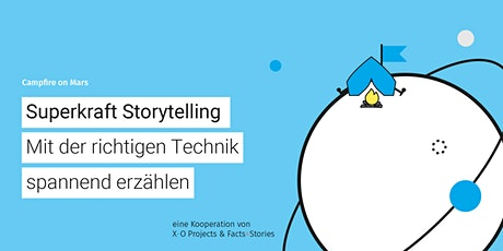 Campfire on Mars #23: Storytelling - mit der richtigen Technik spannend erzählen Tickets