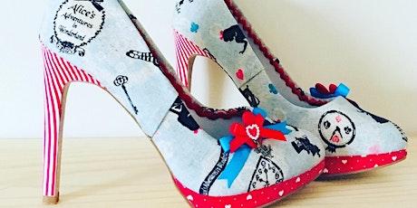 Alice in Wonderland Shoe Makeover Workshop tickets
