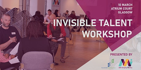 Invisible Talent Workshop Glasgow tickets