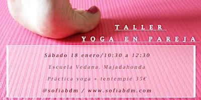 Yoga en pareja y tentempié