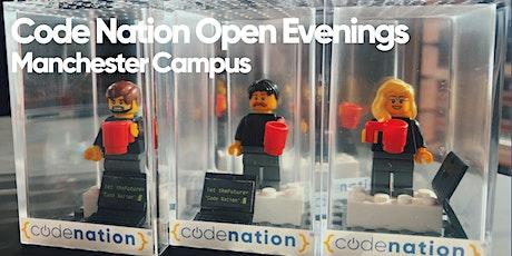 Code Nation Open Evening - Manchester tickets