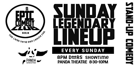 Sunday Legendary Lineup tickets
