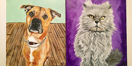 Sip and Paint - Paint Your Pet @ Iron Goat Brewing