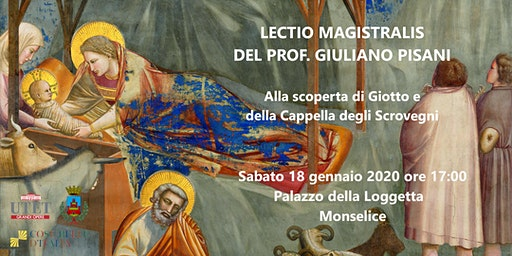 Lectio Magistralis: alla scoperta della Cappella degli Scrovegni.