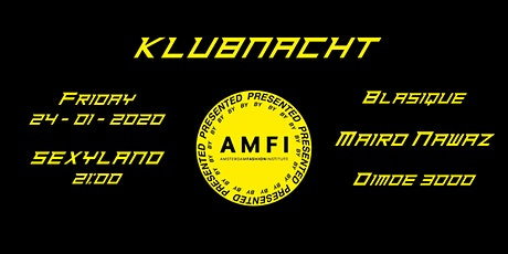 KLUBNACHT presentedbyAMFI tickets