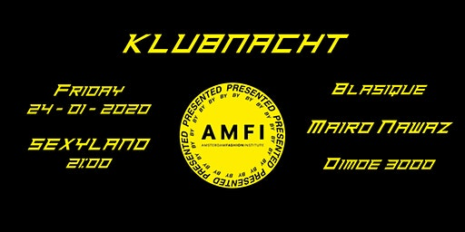 KLUBNACHT presentedbyAMFI