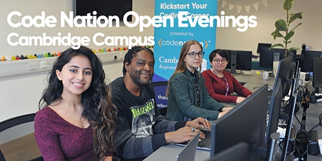 Code Nation Open Evening - Cambridge tickets