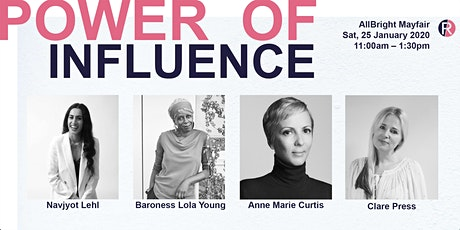 Fashion Roundtable - Power of Influence:  Vogue Elle House of Lords Experts tickets