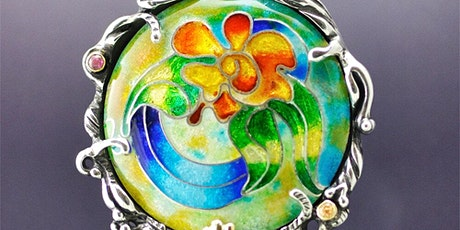 Cloisonné Enameling on Fine Silver tickets