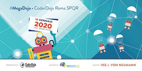 #MegaDojo 2020 @CoderDojo Roma SPQR biglietti