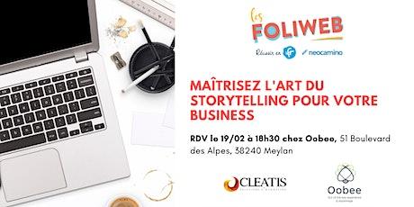 [Grenoble] Maîtrisez l'art du storytelling pour votre business billets