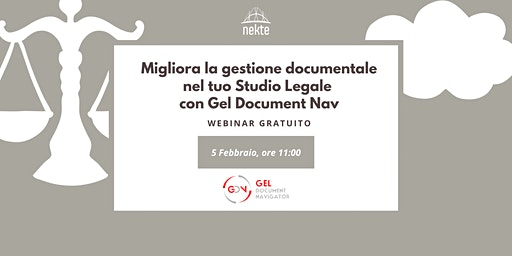 Migliora la gestione documentale nel tuo Studio Legale con Gel Document Nav