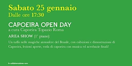 CAPOEIRA OPEN DAY! @IL FORO DEI GRANAI DI NERVA