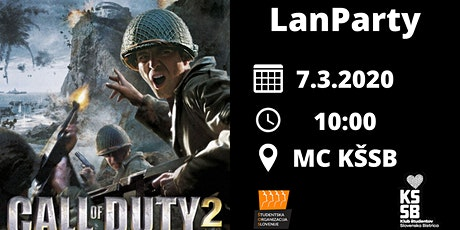 LanParty: Call of Duty 2 tickets