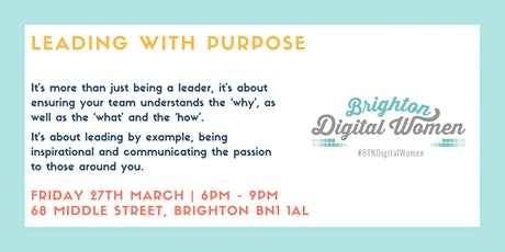 Leading with Purpose tickets