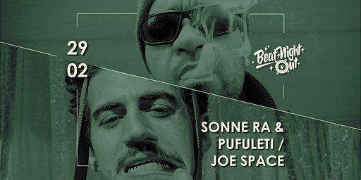 BeatNightOut w/ Sonne Ra & Pufuleti/Joe Space | Regensburg, Degginger
