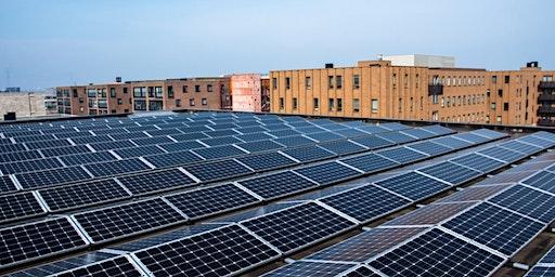 Informatieavond zonnepanelen voor grote VvE's in amsterdam