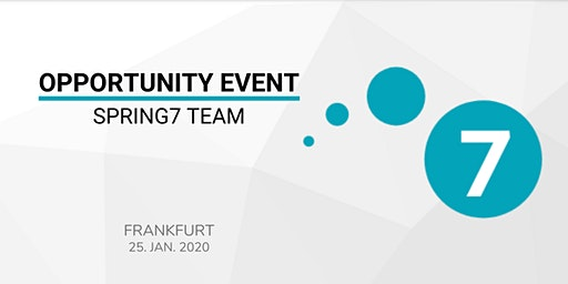 SPRING7 TEAM OPPORTUNITY EVENT