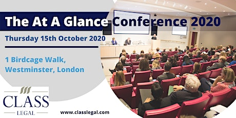 The At A Glance Conference 2020 tickets
