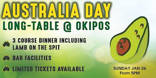 Australia Day Long Table @ OKipos