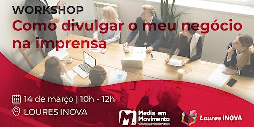 Workshop sobre Como divulgar o meu negócio na imprensa