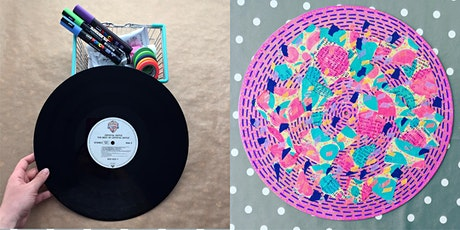Transform a Vintage Vinyl Record Into Art tickets