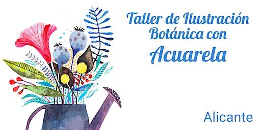 TALLER ILUSTRACIÓN BOTÁNICA CON ACUARELA