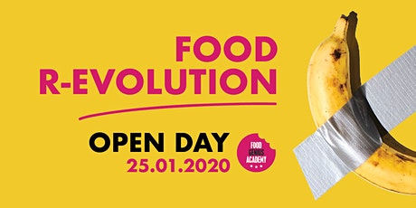 Open Day: Food R-evolution tickets