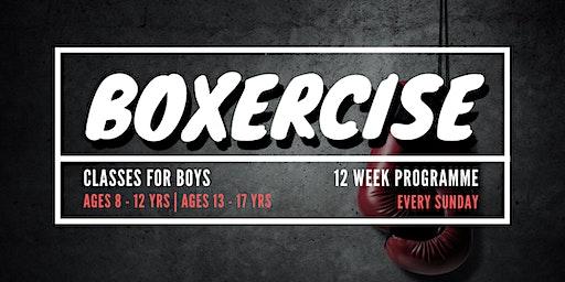 Boys Boxercise Classes | 12 Week Programme