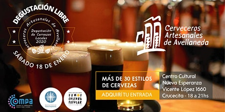 Degustación de Cervezas Artesanales. Viví tus Vacaciones 2020! entradas